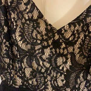 a'gaci Other - Black Lace Backless Romper